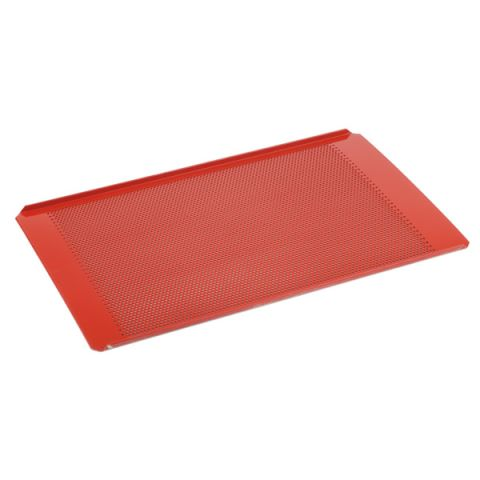 GN1/1 GastroNorm-Baking Sheet Stainless Steel red- 1pc.