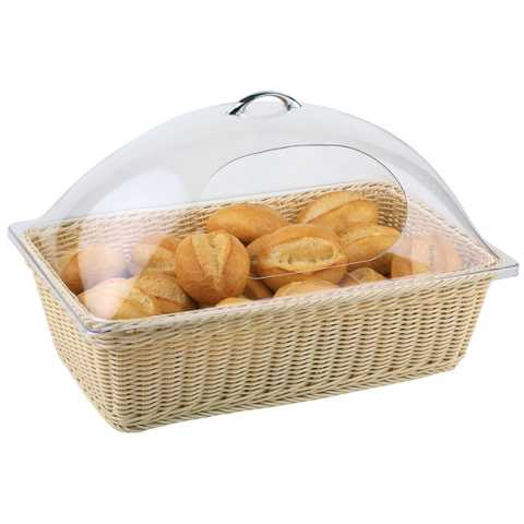 Buffet Basket ECONOMIC GN1/1 Height15,5cm PP-Plastic beige - 1pc