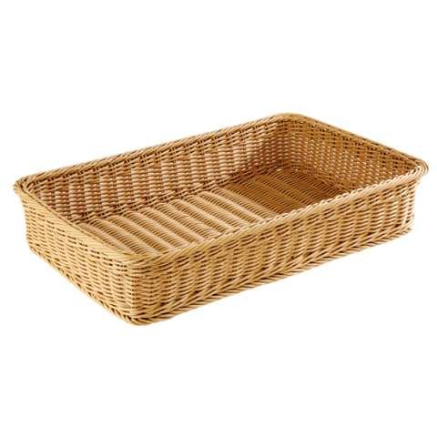 Basket PROFI LINE GN1/1 Height10cm PP-Plastic beige - 1pc.