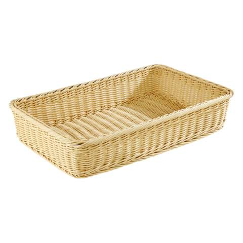 Basket PROFI LINE GN1/1 Height10cm PP-Plastic light beige - 1pc