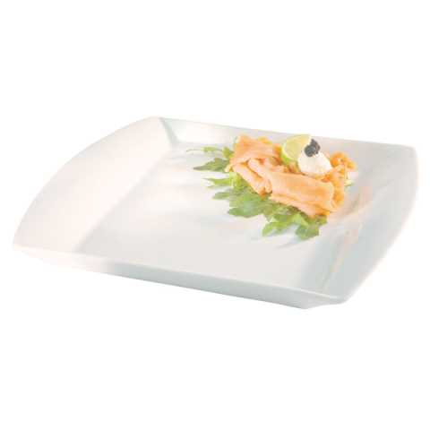 GN Dish/Tray GN1/2 Height2cm Porcelain white - 1pc.