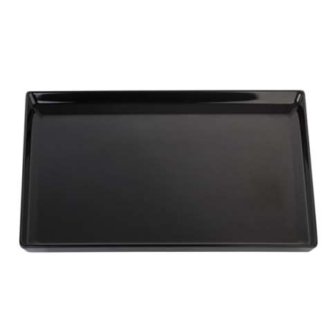 GN Tray FLOAT GN1/1 height3cm MELAMIN black - 1pc.
