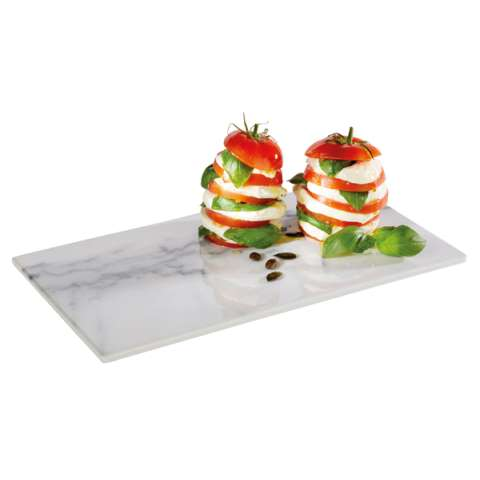 GN Tray MARBLE GN1/3 Height1,5cm MELAMIN - 1pc.
