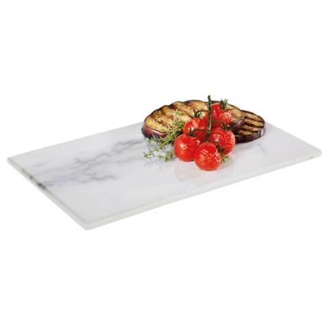 GN Tray MARBLE GN1/4 Height1,5cm MELAMIN - 1pc.