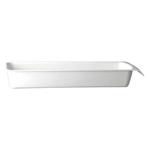 GN Bowl CASCADE GN2/4 Height7,5cm MELAMIN white - 1pc.