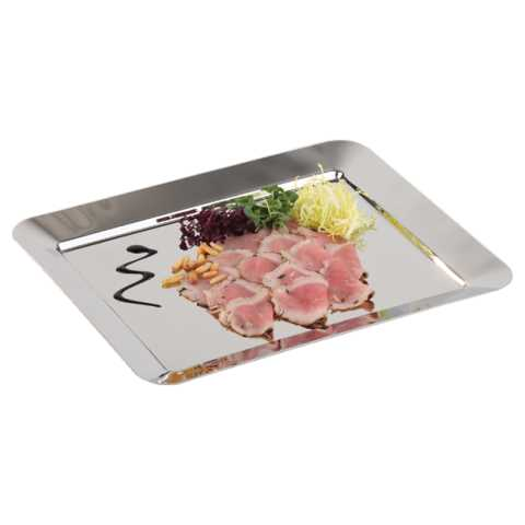 GN Tray SUNDAY 32,5x26,5cm/Height2cm Stainless Steel - 1pc.