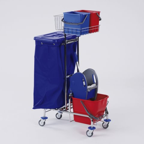 Equipment Trolley GW1 73x51cm/height128cm chrome plated - 1pc.