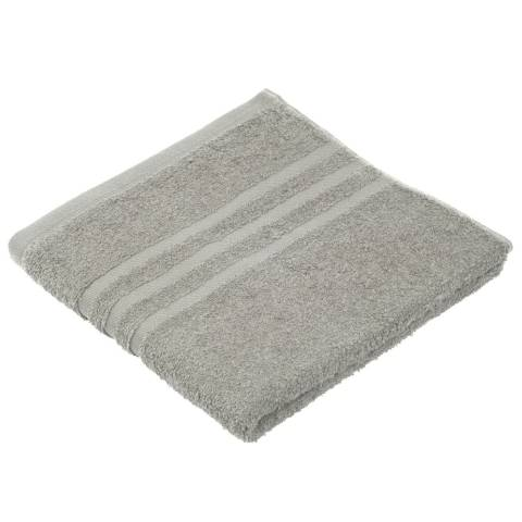 Towel SYLT Towels 50x100cm COTTON silver - 6pcs.
