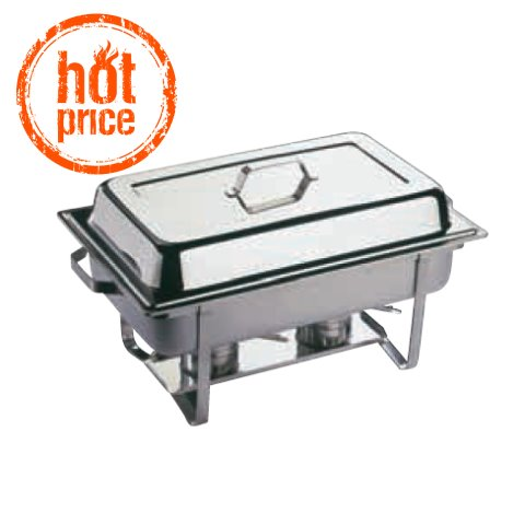 HOT! Chafing Dish ECONOMIC 9ltr GN1/1 height30cm STAINLESS STEEL