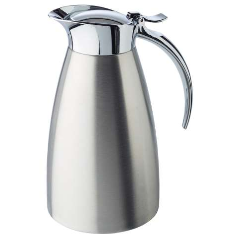 Vacuum Jug 0,6ltr Ø10,5cm/height18cm Stainless Steel - 1pc.