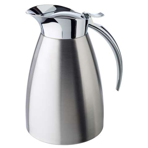 Vacuum Jug 1ltr Ø13cm/height19,5cm Stainless Steel - 1pc.