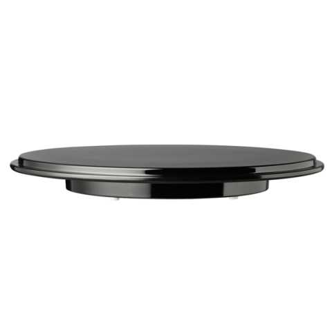 Cake Stand incl. Cover Ø31cm/height15,5cm Melamin black - 1pc.