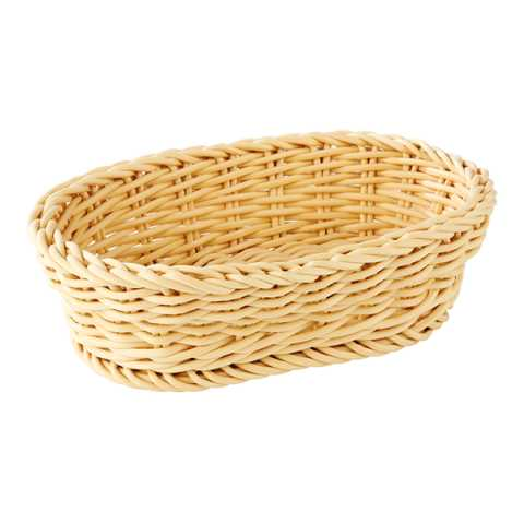 Basket PROFI LINE 19x12cm/height6cm PP-Plastic light beige - 1pc