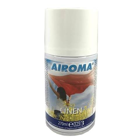Air Freshener AIROMA Aerosol LINEN 270ml - 1pc.