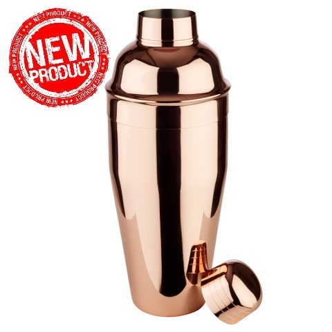 NEW! Shaker CLASSIC Ø9cm/H23cm Stainless Steel - 1pc.