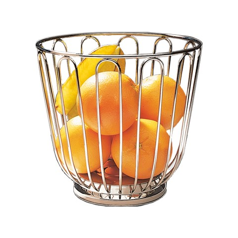 Basket for Fruits Ø21,5cm/height20,5cm StainlessSteel - 1pc.