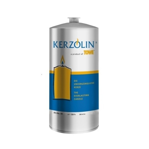 KERZOLIN 04 Candle - BurningTime ~120h Ø5,8cm/h14cm - 96pcs.