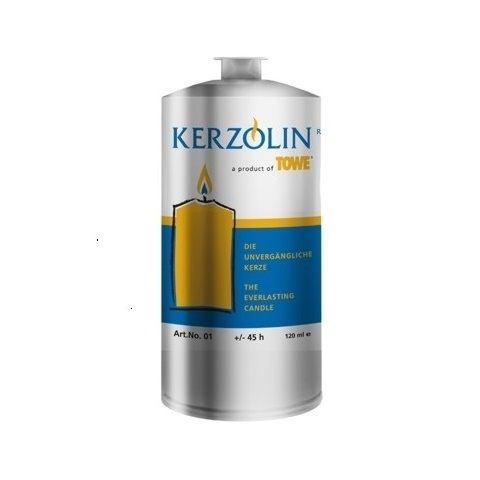 KERZOLIN 01 Candle - BurningTime ~45h Ø4,3cm/h10,5cm -144pcs.