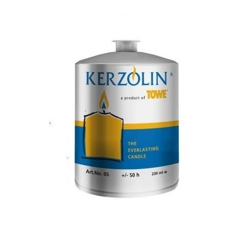 KERZOLIN 05 Candle - BurningTime ~50h Ø5,8cm/h7,5cm - 48pcs.