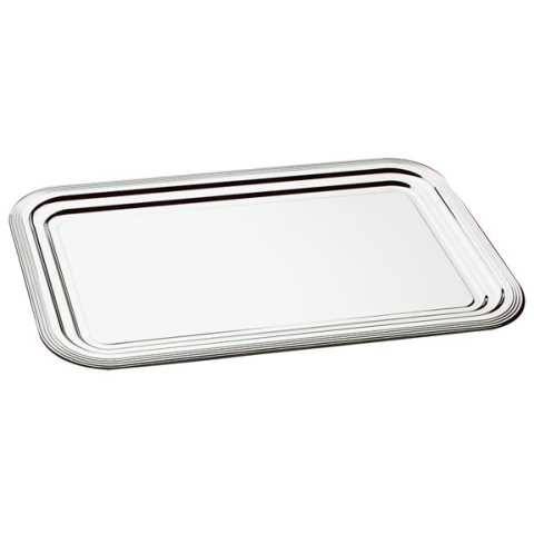 Party Tray CLASSIC 41x31cm Metal - 48pcs.