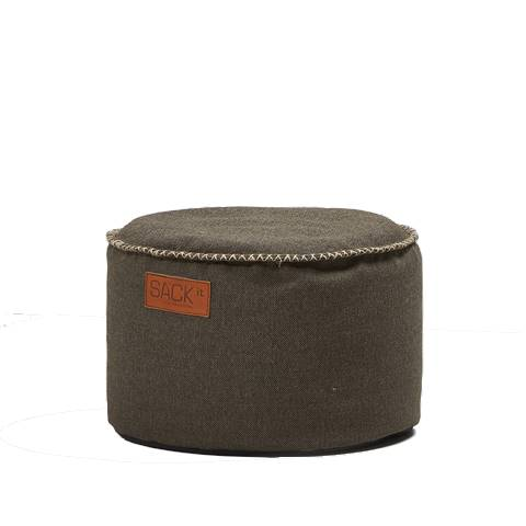 SACKit - RETROit Cobana Drum Sitzhocker OUTDOOR braun- 1Stk.