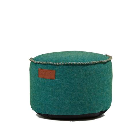SACKit - RETROit Cobana Drum Sitzhocker OUTDOOR petrol- 1Stk.