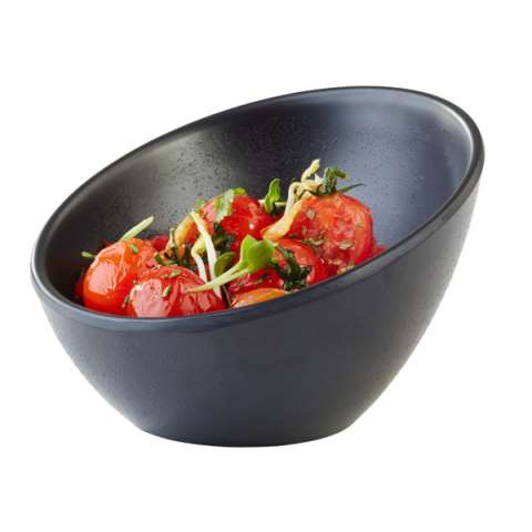 Bowl ZEN Ø10cm/height7cm MELAMIN black - 1pc.
