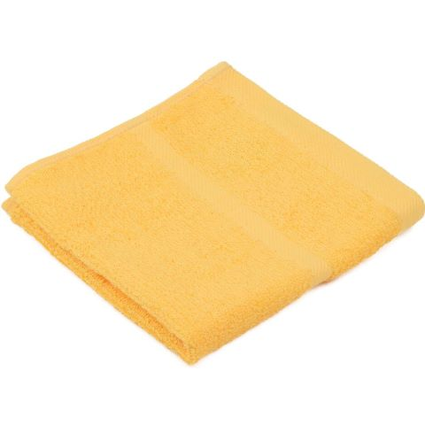 Wash Cloth SYLT Towels 30x30cm COTTON gold - 12pcs.