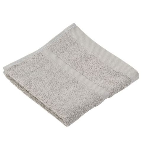 Wash Cloth SYLT Towels 30x30cm COTTON silver-grey - 12pcs.
