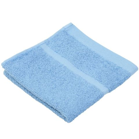 Wash Cloth SYLT Towels 30x30cm COTTON light blue - 12pcs.