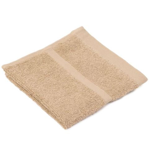 Wash Cloth SYLT Towels 30x30cm COTTON cappuccino - 12pcs.