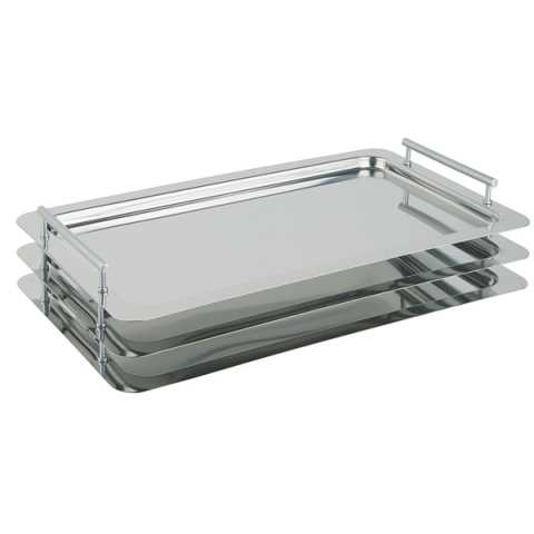System-Tray CLASSIC GN1/1 Height3,5cm Stainless Steel - 1pc.