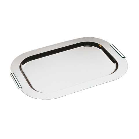 Tray FINESSE 44x31cm/height1cm Stainless Steel18/0 - 1pc.