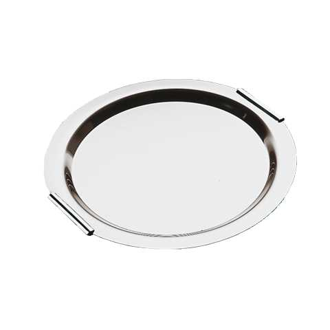 Tray FINESSE Ø38cm/height1cm Stainless Steel18/0 - 1pc.
