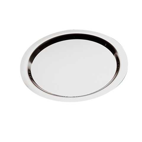 Tray FINESSE Ø32cm/height1cm Stainless Steel18/0 - 1pc.