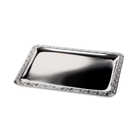 Tray 63,5x44,5cm/height1cm Stainless Steel18/0 - 1pc.