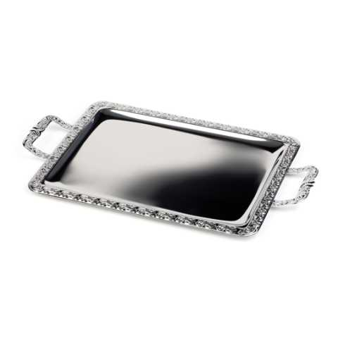 Tray 52x31cm/height2cm Stainless Steel18/0 - 1pc.