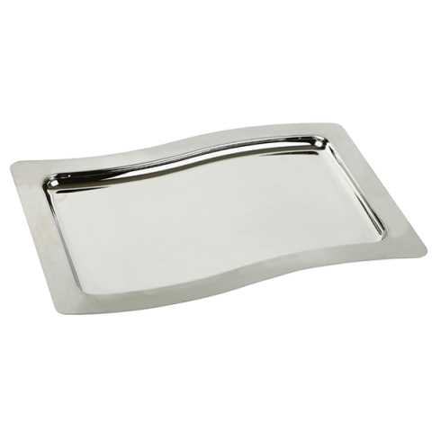 Tray SWING 28,5x20cm/Height1cm Stainless Steel - 1pc.