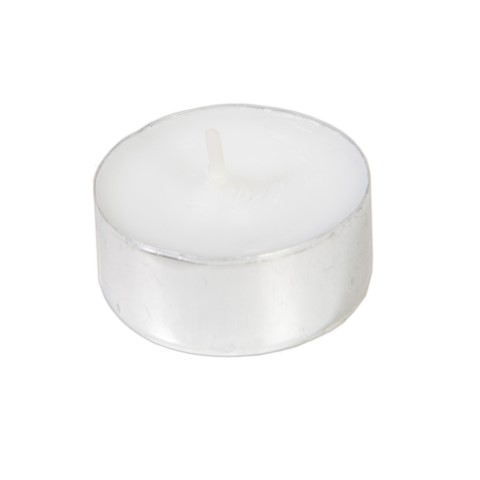 Tealight Ø40mm Burning Time 6h white - 800pcs.