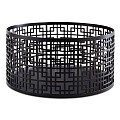 Buffet Stand/Basket ASIA+ ∅21cm/H10,5cm StainlessSteel black - 1