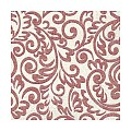 Lunch Napkins BOSSE 33x33cm 1/4fold TISSUE bordeaux - 600pcs.