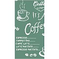 Napkins COFFEE TIME 33x33cm 1/8fold LINCLASS grey - 300pcs.