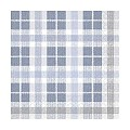 Lunch Napkins FRED 33x33cm 1/4fold TISSUE blue/grey - 600pcs.