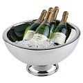 ChampagneBowl 10,5ltr Ø44cm/height24cm STAINLESS STEEL - 1pc.
