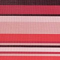 Place Mats Fine Band LINES 45x33cm PVC-Plastic red - 6pcs.