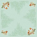 Table Cloths PIPPA 80x80cm LINCLASS-Airlaid green - 60pcs.