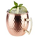 Barrel Copper Mug Ø9cm/height10cm Stainless Steel - 1pc.