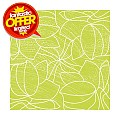 HUGO Napkins 40x40cm AIRLAID light green - 600pcs.