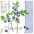 BLUEBERRY Napkins 40x40cm LINCLASS-Airlaid blue - 300pcs.