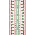 GINA Xmas Table Runners 40cmx24lfm LINCLASS - 4pcs.